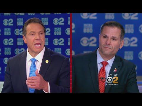 Cuomo, Molinaro Spar In Heated Gubernatorial Debate