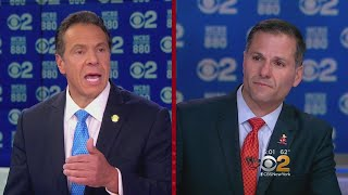 Cuomo, Molinaro Spar In Heated Gubernatorial Debate