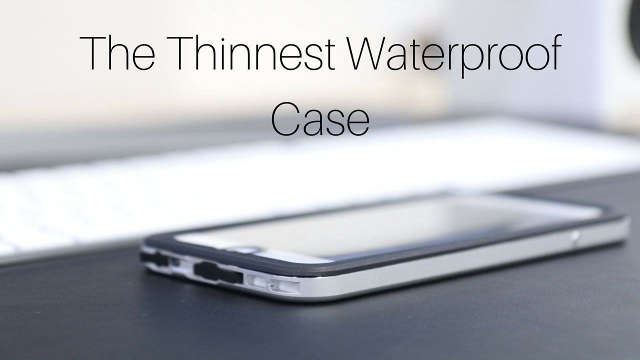 buy online 3dd65 db8bc The Thinnest Waterproof Phone Case