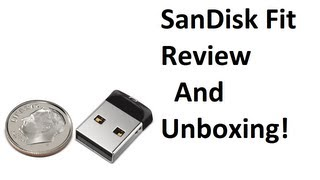 SanDisk Cruzer Fit Review And Unboxing!
