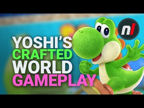Hands On: Getting Arty In Yoshi's Crafted World On Nintendo