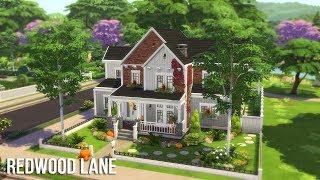 The Sims 4 Speed Build - Redwood Lane