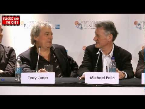 Michael Palin, Terry Jones & directors of Graham Chapman: A Liar's Autobiography Press Conference