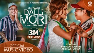 Dalli Mori - Sushant Khatri | Ft. Alisha Sharma | Arun Tamang | Official Music Video