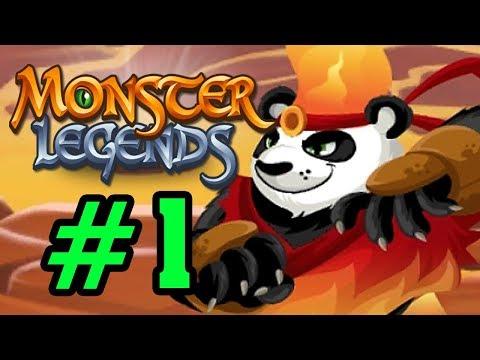 Monster Legend - Thế Giới Quái Vật - Đánh Bại KungFu PanDa Tập 1