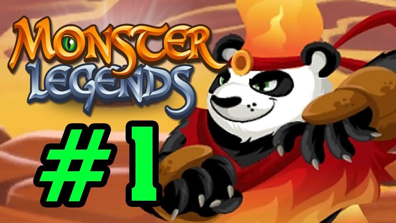 Monster Legends – Thế Giới Quái Vật – Đánh Bại KungFu PanDa Tập 1