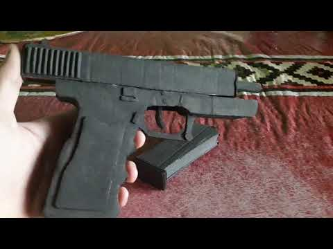 Glock 18 de carton