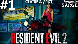 Zagrajmy w Resident Evil 2 Remake PL | Claire A | odc. 1 - Początek kampanii Claire 1st | Hardcore S
