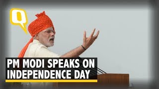 Independence Day 2018: PM Narendra Modi Addresses the Nation From Red Fort