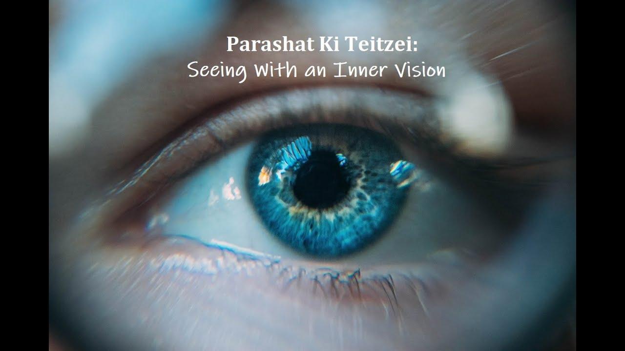 Jerusalem Lights Parashat Ki Teitzei 5780: Seeing with an Inner Vision