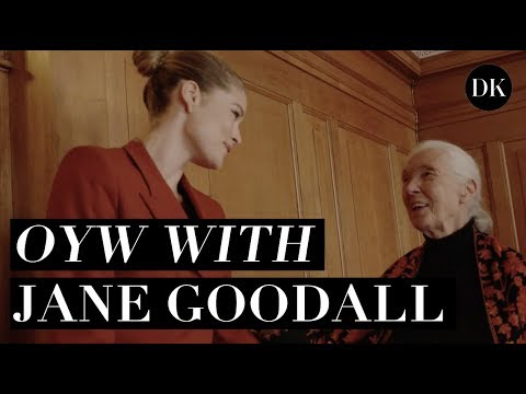 MEETING JANE GOODALL AT ONE YOUNG WORLD + TALKING ABOUT HOW SHE STAYS HOPEFUL • DOUTZEN DIARIES