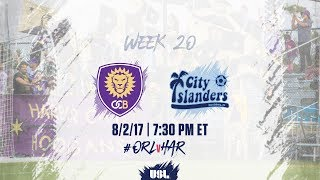 Orlando City II vs Harrisburg City Islanders full match