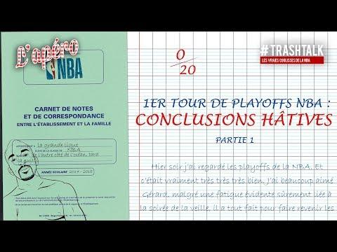 Playoffs 2018 : les conclusions hâtives négatives !