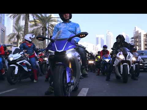 DUBAI BIKER BOYS - HALLOWEN RIDE