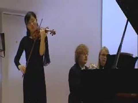 Ysaye Caprice Op 526 Violin Playing-Wei Wen