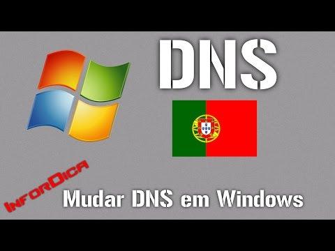 [Tutorial] Mudar DNS - Páginas Bloqueadas em Portugal