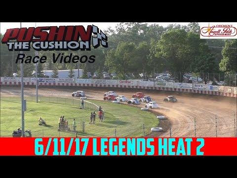 Angell Park Speedway - 6/11/17 - Legends - Heat 2