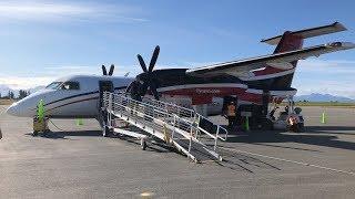 Ravn Alaska Flight - Anchorage to Homer | Dash 8 Q100