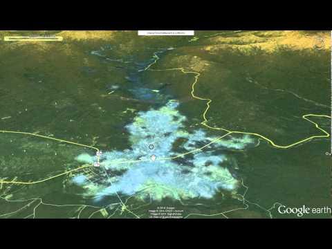 MaeSuay Dam Water Flow Simulation by VirtualFlood3D Software