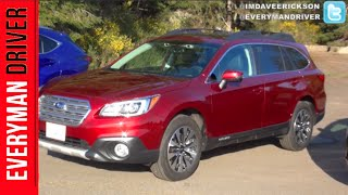 2015 Subaru Outback on Everyman Driver (First Drive Review)
