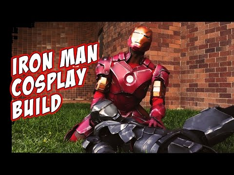 IronMan How To Cosplay Costume Foam Armor build