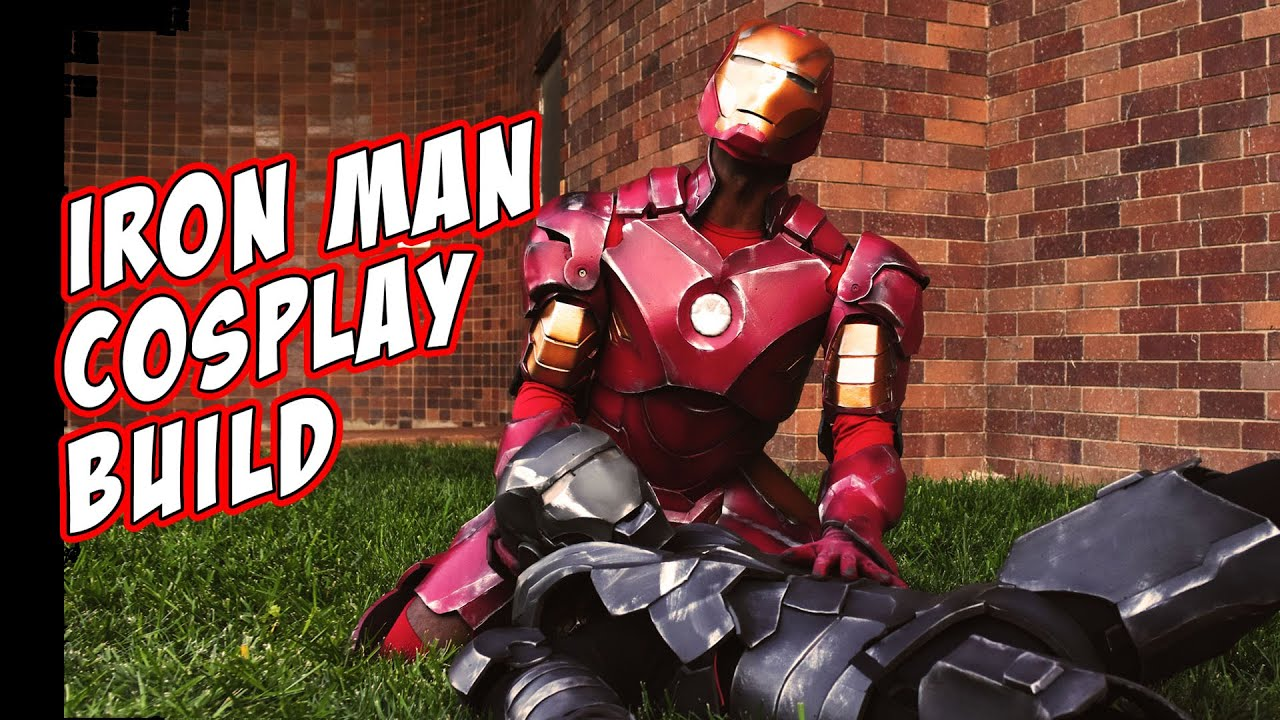& IronMan How To Cosplay Costume Foam Armor build - YouTube