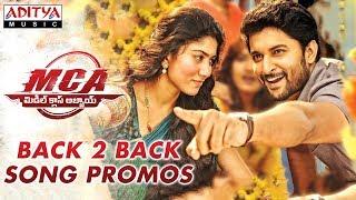 MCA Song Promos B2B | MCA Movie Songs | Nani, Sai Pallavi | DSP | Dil Raju | Sriram Venu