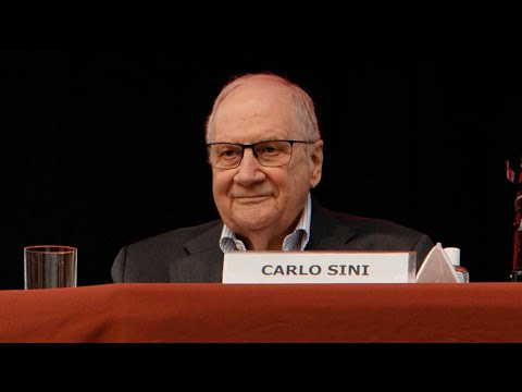 Carlo Sini | Automa | festivalfilosofia 2020