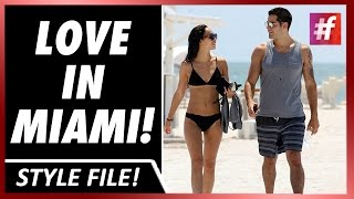 #fame hollywood - Jesse Metcalfe and Cara Santana Gorgeous In Miami