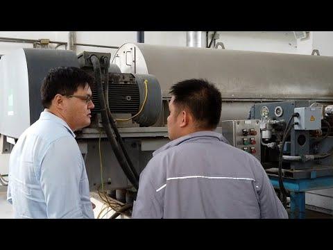 Flottweg Decanter Centrifuges in the Largest Sewage Treatment Plants of Asia
