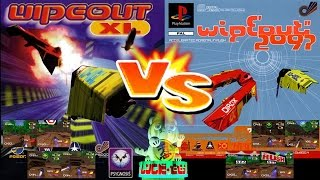 WipEout XL Vs WipEout 2097