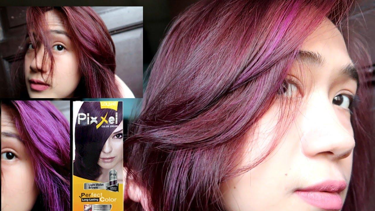 How I Dye My Hair Lolane Pixxel Lightest Ash Blonde Light