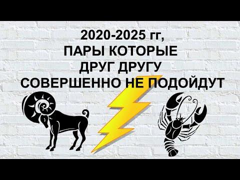 2020-2025 гг: ПАРЫ, КОТОРЫЕ СОВЕРШЕННО НЕ ПОДОЙДУТ ДРУГ ДРУГУ!!!