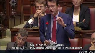 Alfredo D'Attorre: Intervento in Aula contro la fiducia sulla legge elettorale