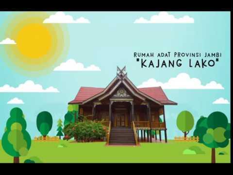 UAS Desain Nusantara 2016  Rumah Adat Jambi Kajang Lako