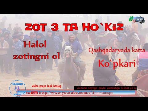 Qashqadaryo Viloyati Kasbi Tumanida  Katta Ko`pkari.  2 -  Qism