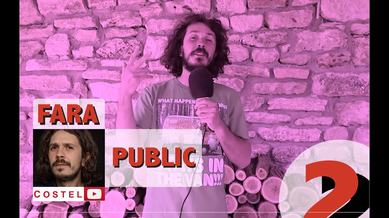 COSTEL | Fara public Ep.2 | Stand-up Comedy