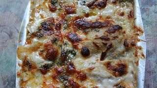 Spinach & Mushroom Lasagna Recipe