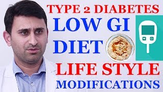 Endocrinology physicians recommended diet for type 2 diabetes   Lifestyle modifications for diabetes