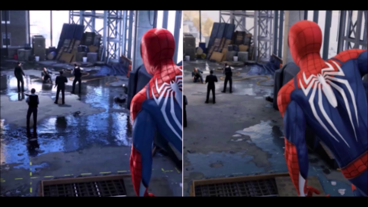 Image result for spider man ps4 downgrade