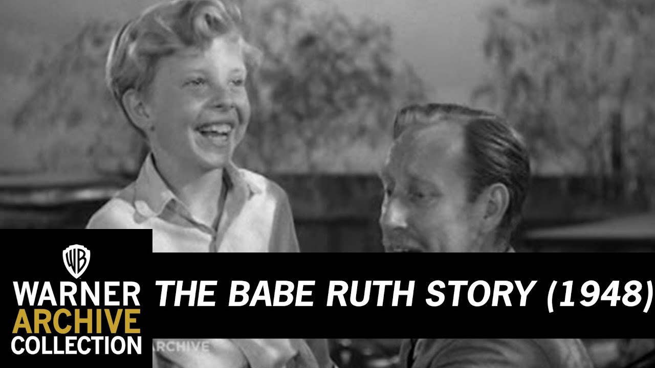 The Babe Ruth Story 1948  Babe Ruth Makes A Kid Walk -2622
