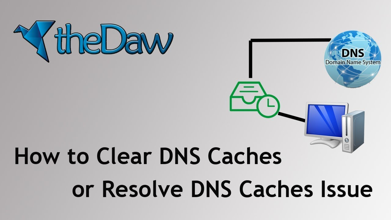 How to Clear DNS Caches on Windows PC | DNS Caches Resolve | PC Tips | theDaw