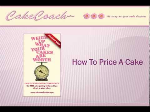How to price a cake