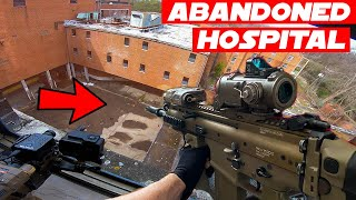 Abandoned Hospital Tokyo Marui SCAR-H Airsoft Gameplay!