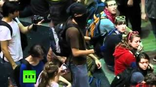 Montreal students occupy University of Quebec