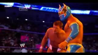 Sin Cara save Daniel Bryan 2/6/11