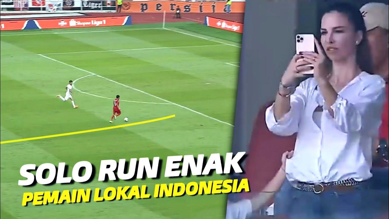 """""""Gak Mau Kalah Dengan Pemain Asing"""" Inilah Gol Solo Run Mantap Pemain Lokal Liga Indonesia"""