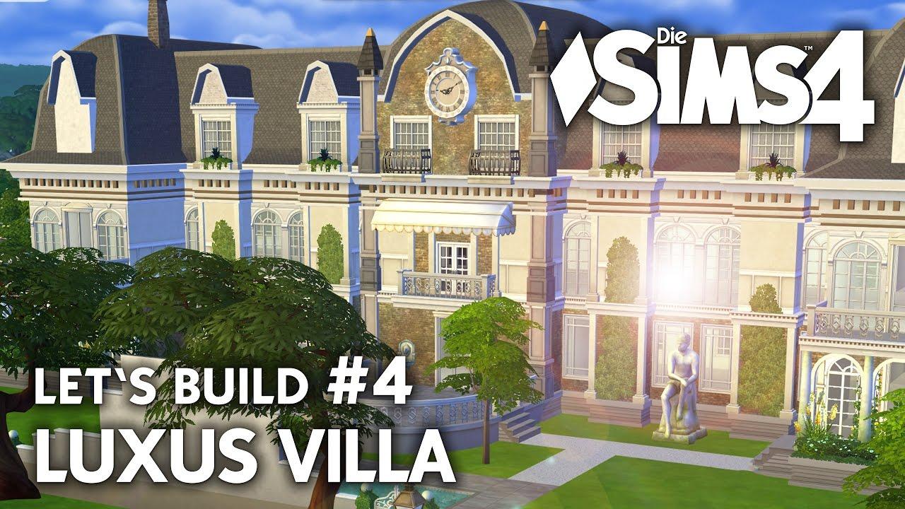 Luxus Villa 4 Bauen Die Sims 4 Haus Collab Mit Nando Deutsch