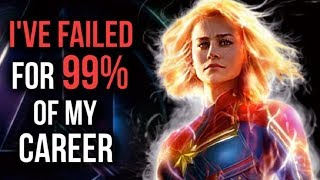 Motivational Success Story Of Brie Larson - From Constant Failures To Captain Ma