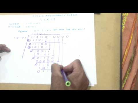 Cyclic Redundancy Check(CRC) example